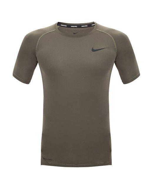 Nike Logo-printed T-shirt Green for men