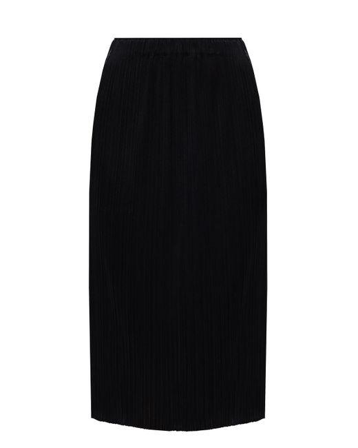 Pleats Please Issey Miyake Black Pleated Skirt