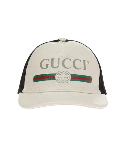 Gucci - Multicolor Baseball Cap With A Logo And  web  Stripes for Men ... 2072c91b933f