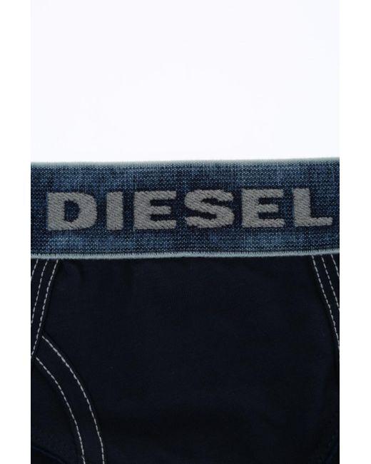 097243f99 ... DIESEL - Blue Cotton Panties - Lyst