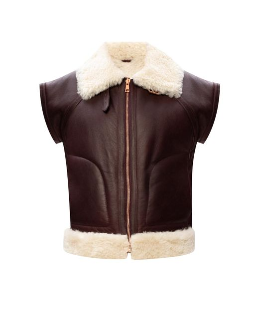 See By Chloé Multicolor Leather Vest
