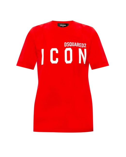 DSquared² T-shirt With Logo Red