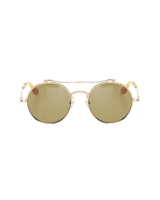 Givenchy Green Sunglasses With Logo
