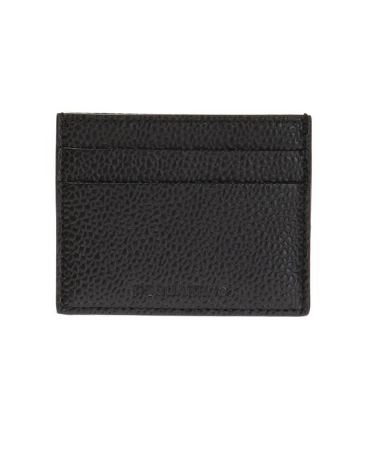 DSquared² - Black Card Case for Men - Lyst