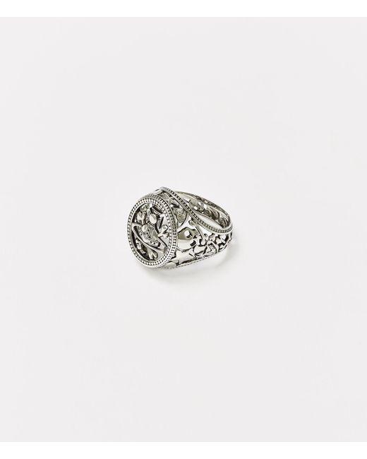 Vivienne Westwood Metallic Aaron Seal Ring