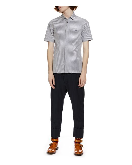 lyst   vivienne westwood classic short sleeved shirt