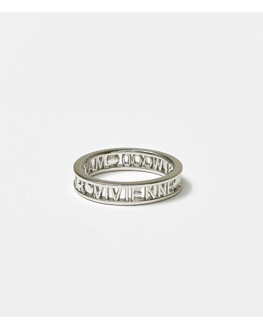Vivienne Westwood Metallic Westminster Ring