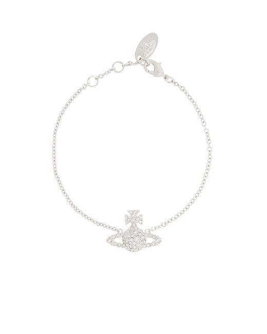 Vivienne Westwood   Metallic Grace Bas Relief Bracelet Crystal   Lyst