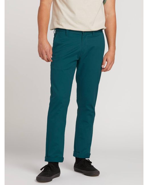 huge discount pretty and colorful sneakers Men's Blue Frickin Slim Chino Pants