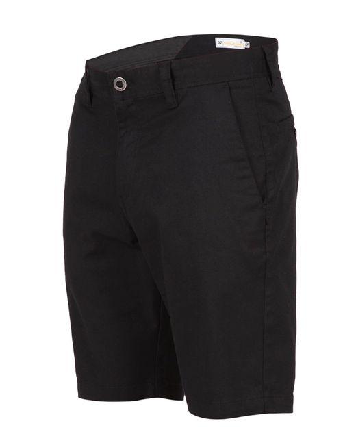 Volcom | Black Frickin Mod Stretch Shorts for Men | Lyst