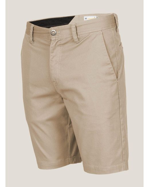 Volcom | Natural Frickin Mod Stretch Shorts for Men | Lyst