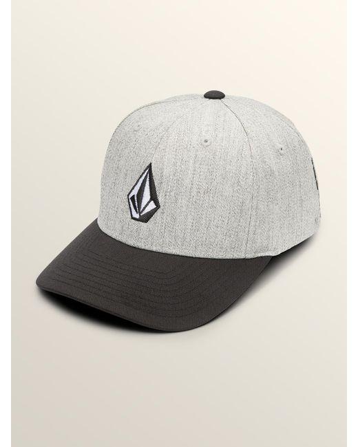 Lyst - Volcom Big Boys Full Stone Xfit Hat in Gray for Men 41371258cd87