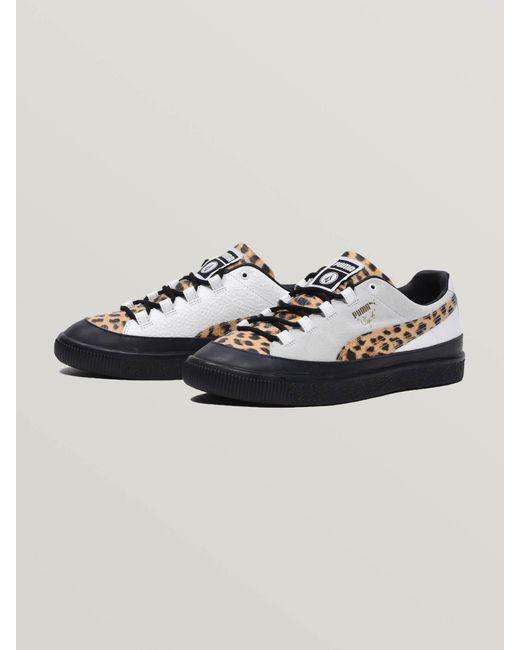 separation shoes 99e87 7dae7 Women's White Puma Clyde Rt X
