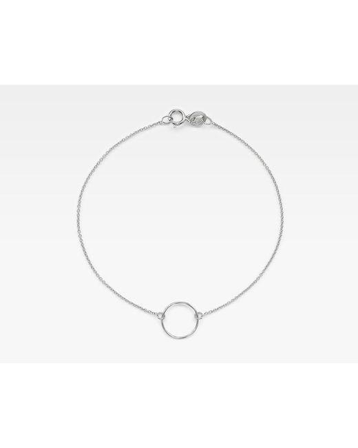 Vrai & Oro   Metallic Circle Bracelet   Lyst