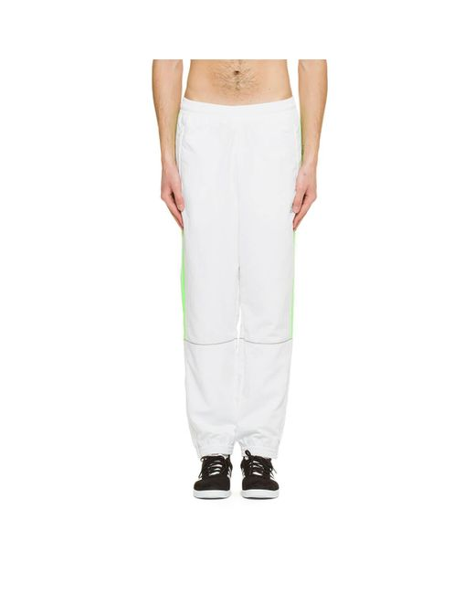 Lyst georgij rubchinskiy adidas pantaloni della tuta in bianco per gli uomini.
