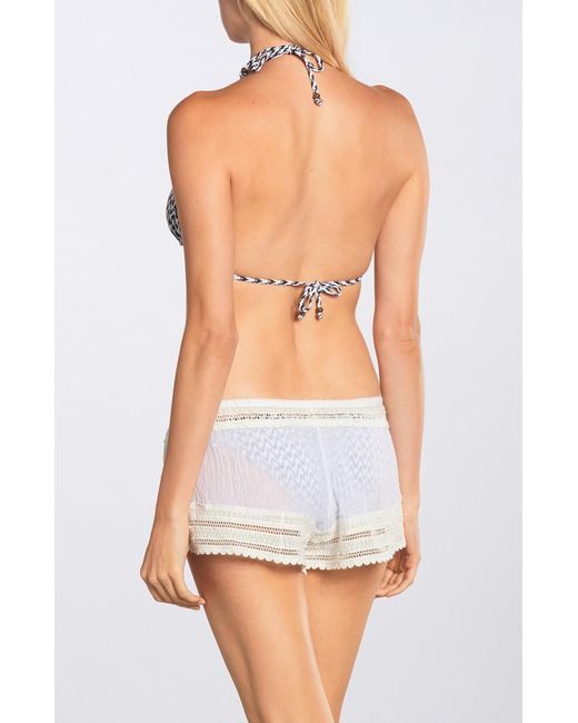 Eberjey | White Love Shack Aster Short | Lyst
