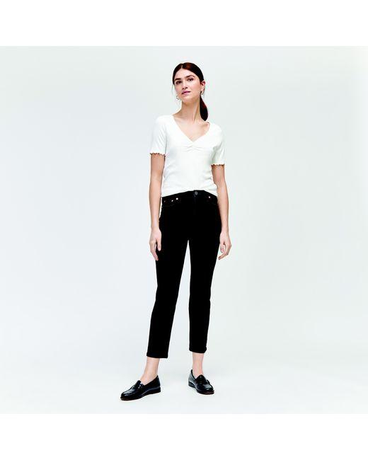 Warehouse - Black Slim High Rise Jeans - Lyst