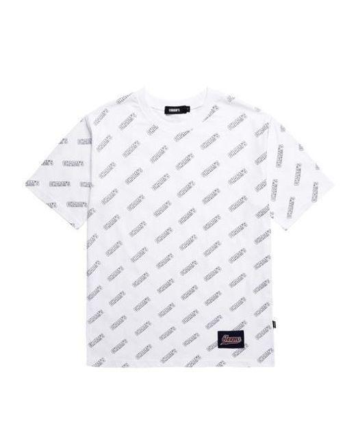 eab371c6c Lyst - Charms Logo Pattern T-shirt White in White for Men