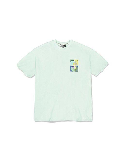 XTONZ Green Xtt028 Stamp T-shirt () for men