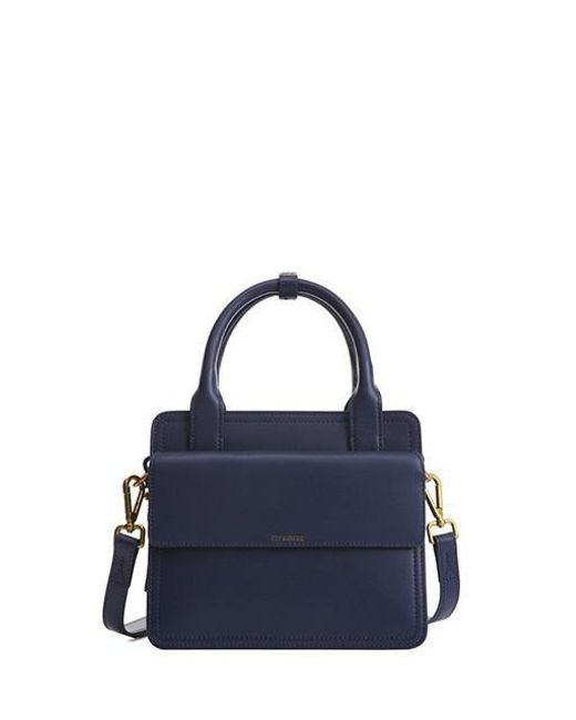 Joy Gryson Blue Union Satchel Lw6xa6070 Lyst
