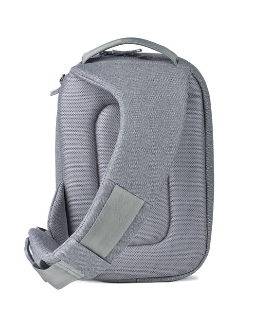 W Concept Quick Sling Bag Gray In Gray Lyst