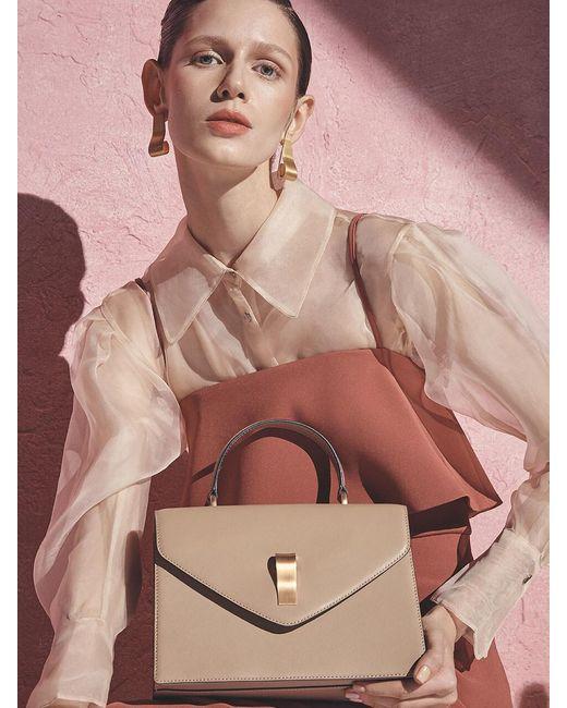 Joy Gryson Natural Darby Medium Tote Bag