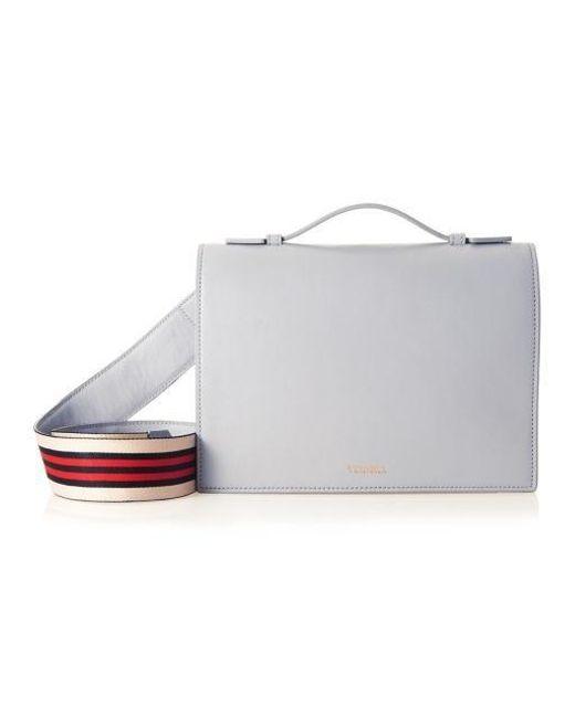 W Concept - Gray Basic Flip Bag Grey - Lyst