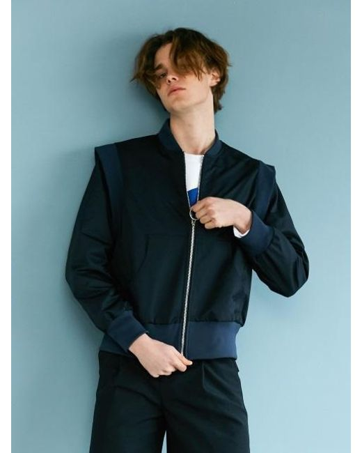 BONNIE&BLANCHE - Blue Easy Flow Jacket Navy - Lyst