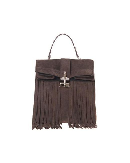 W Concept - Paper Tessel Bag Brown - Lyst