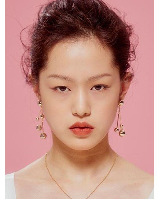 VIOLLINA - Metallic Fashion Dna Earring - Lyst