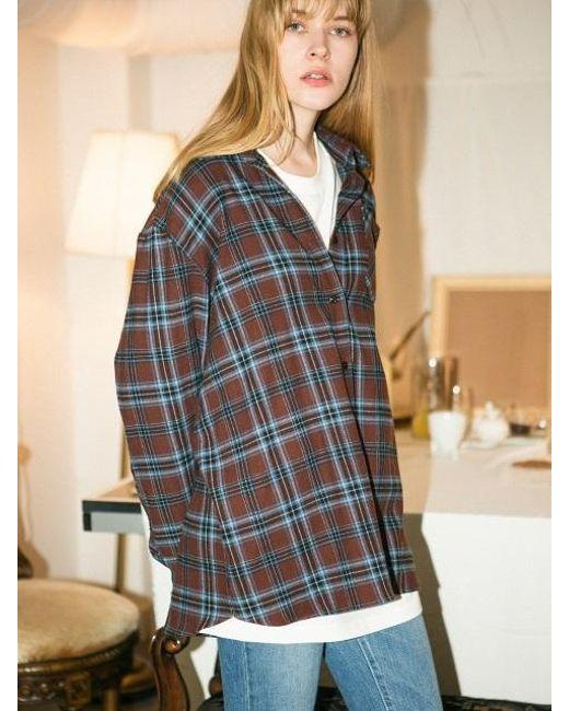 LETQSTUDIO - Multicolor Jade Shirt Brown - Lyst