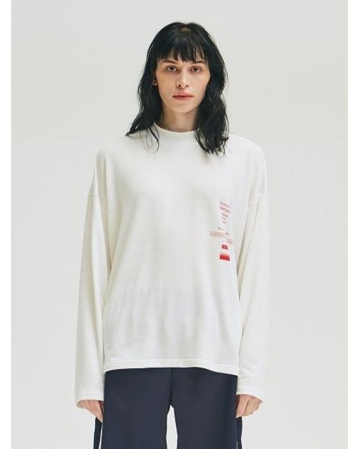 0271aae61cf2 Lyst - Add [unisex] Syndrome Oversized T-shirts White in White