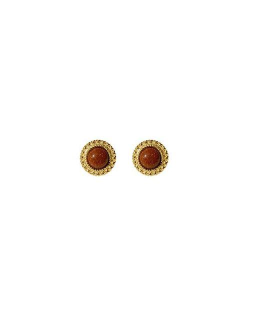 FLOWOOM - Metallic Frame Earrings - Lyst