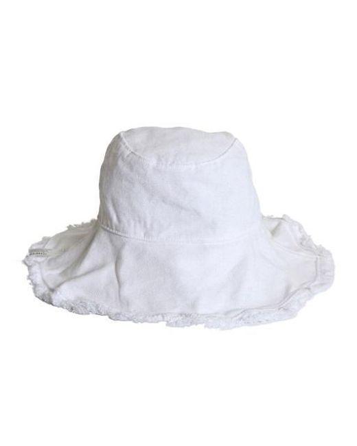 a942e1a96c6 Lyst - SLEEPYSLIP Reversible White Bucket Hat in White for Men