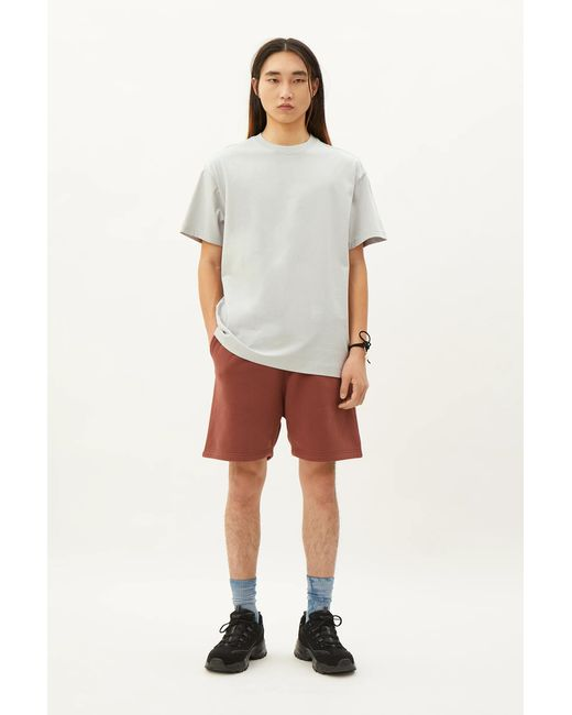 Weekday Gray Oversized T-shirt for men