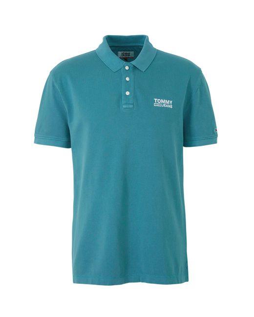 Tommy Hilfiger Regular Fit Polo Blauw in het Blue voor heren