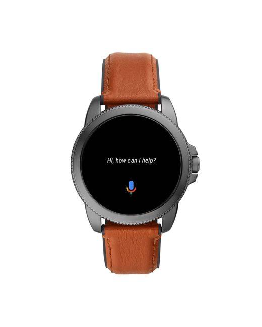 Fossil Gen 5e Display Smartwatch Ftw4055 in het Black voor heren