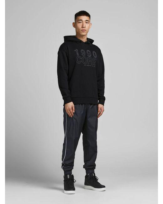 Jack & Jones Sweater Met Printopdruk in het Black voor heren