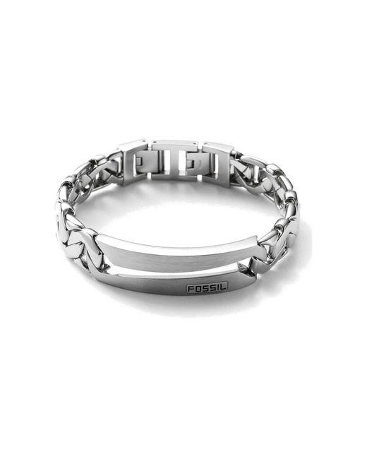 Fossil Armband in het Metallic voor heren