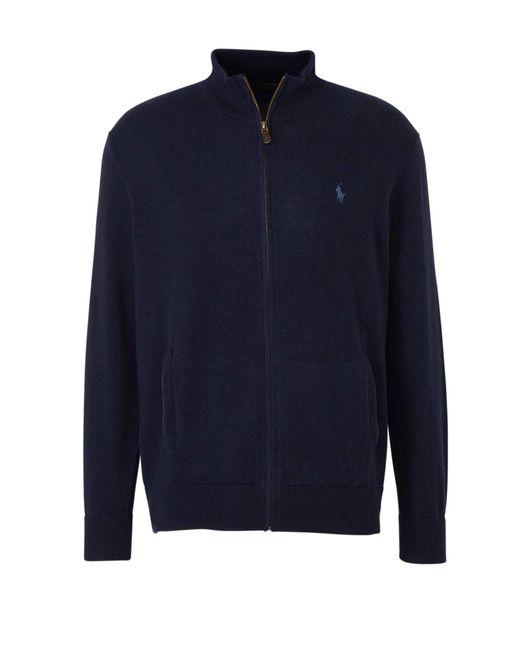 Polo Ralph Lauren Wollen Vest Donkerblauw in het Blue voor heren