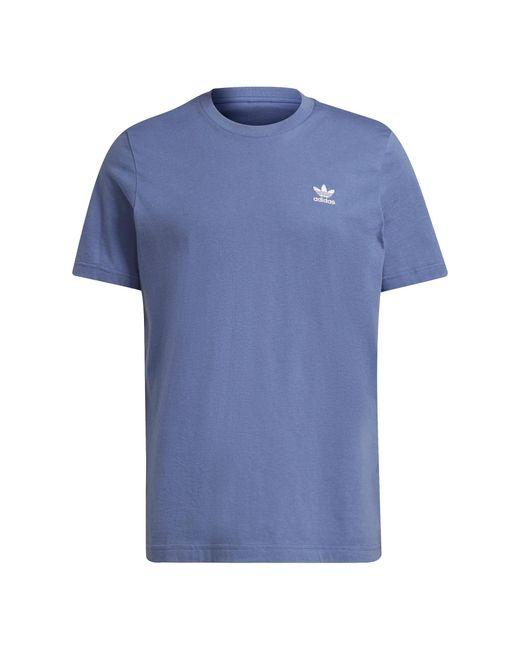 Adidas Adicolor T-shirt in het Blue voor heren