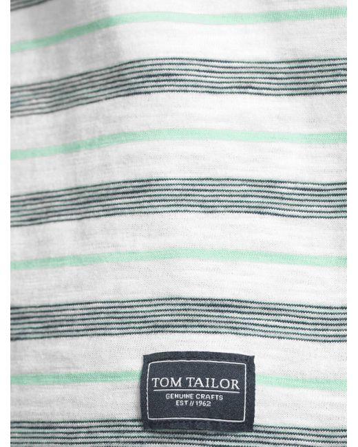 Tom Tailor T-shirt in het Multicolor voor heren