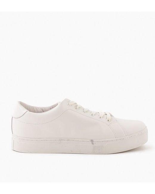 Saturdays NYC - White Derek Leather Shoe - Lyst