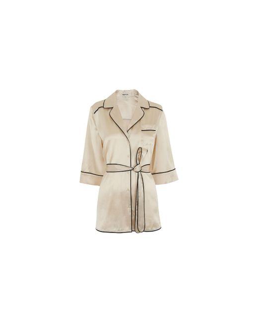 Whistles | White Sylvia Pyjama Silk Shirt | Lyst