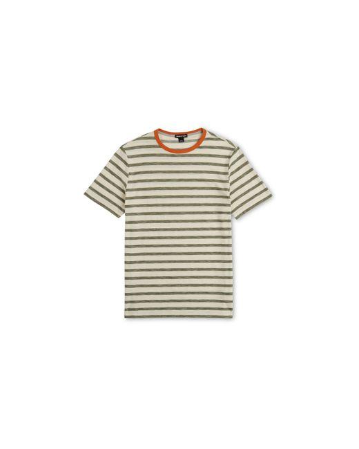 Whistles | Multicolor Herringbone Stripe T-shirt for Men | Lyst