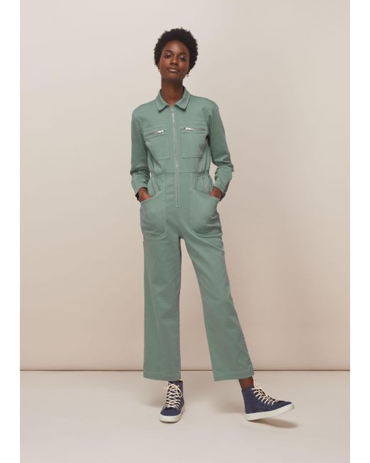 Whistles Green Lf Markey Danny Boilersuit