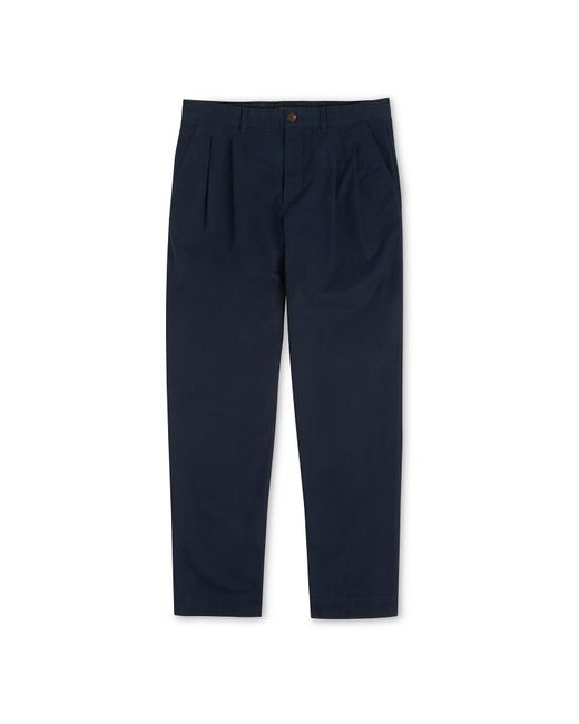 Whistles - Blue Pleat Front Chinos for Men - Lyst