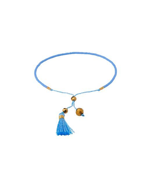 Whistles | Blue Fine Beaded Bracelet | Lyst