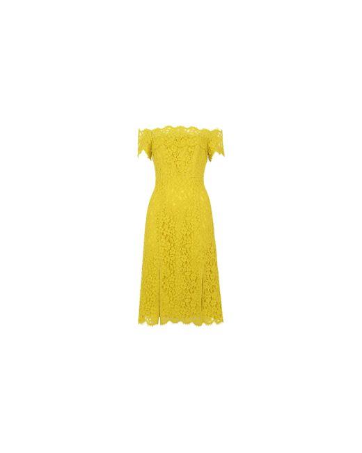 Whistles | Blue Off Shoulder Lace Dress | Lyst