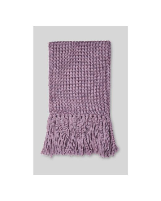 Whistles - Purple Limited Rib Chunky Scarf - Lyst